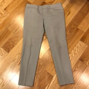Cynthia Rowley flat front trousers
